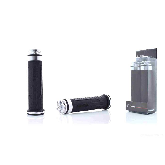 """Ручки руля  универсальные  """"RIZOMA""""  #HP2  (серебро)"""
